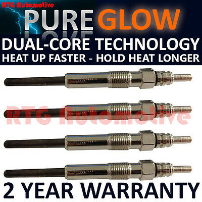 4X For Skoda Fabia Octavia Superb 1.9 Tdi Diesel Heater Glow Plugs Gp74108