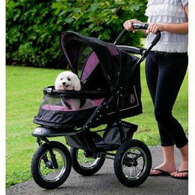 *Pet Gear NV Jogging Stroller Rose' No Zip Weather Cover 70 lbs