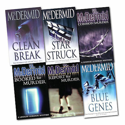 Val Mcdermid Collection 6 Books Set Blue GenesReport for MurderBooked , CA