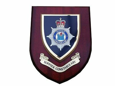Suffolk Constabulary Police Wall Plaque
