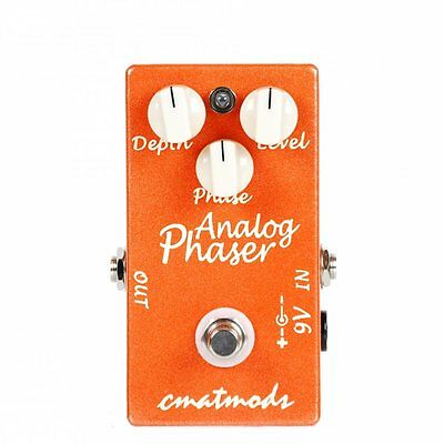 Cmatmods Analog Phaser Guitar Effects Pedal  Brand New! Authorized Dealer!