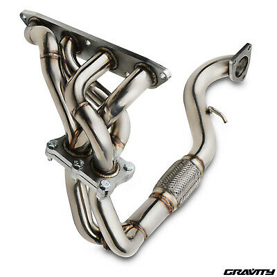 Stainless Steel 6 Bolt Exhaust Manifold Downpipe For Rover Mg Tf Mgtf 1.6 1.8