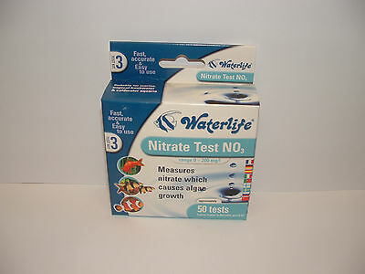 Waterlife Nitrate Test Kit. 50 Tests. Aquarium