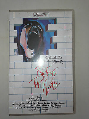 K7 Video Vhs Pink Floyd The Wall