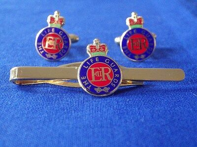 Life Guards Cuff Link And Tie Grip / Clip Gift Set