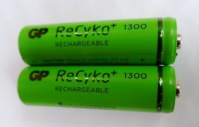 2 x BT Baby Monitor 150 Rechargeable Batteries AA 1300mAh 1.2V