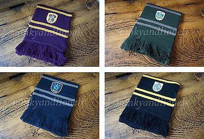 CHOICE OF HARRY POTTER STYLE SCARVES AND HATS UNISEX FILM REPLICA