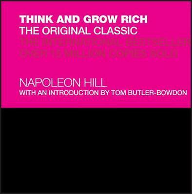 Think and Grow Rich: The Original Classic by Napoleon Hill (English) Hardcover B