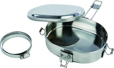 Muffpot Snowmobile Exhaust Pipe Food Warmer Stainless Steel Artic Cat Yamaha