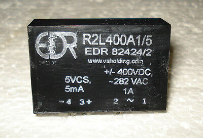 SPST SOLID STATE RELAY- Normally Closed 400VDC(280VAC)/1A, 5V control