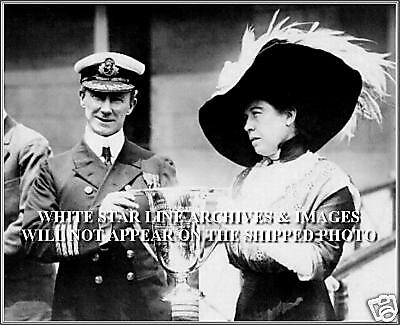Photo: Molly Brown & The Captain Of The Carpathia