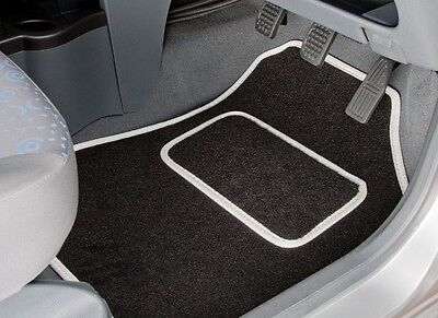 Bmw X5 5 Seats (Dec 2013 Onwards) Tailored Car Mats With White Binding (3273)