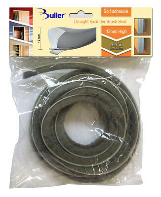 11m Beige Seal Brush Pile Draught And Dust Excluder Self Adhesive 4.8mm x 4.0mm