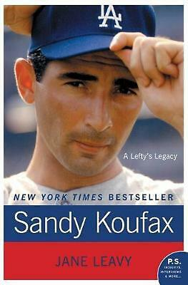 Sandy Koufax: A Lefty's Legacy by Jane Leavy (English) Paperback Book Free Shipp