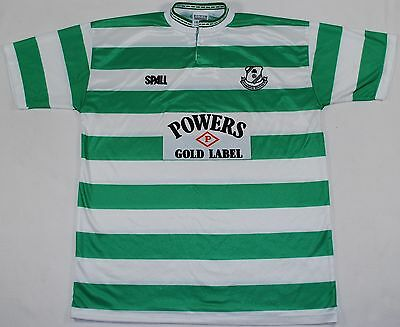1990-1991 Shamrock Rovers Spall Home Football Shirt (Size L)