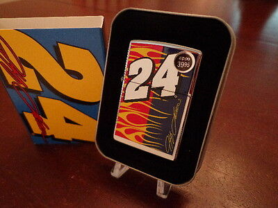 Jeff Gordon #24 Flames Nascar Zippo Lighter Mint In Box