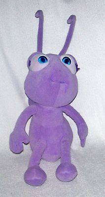 DOT Purple Ant PLUSH STUFFED TOY DOLL Disney A BUG'S LIFE Talking Tickle Me 16""