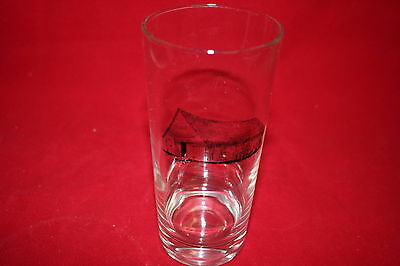 Collectable MoorMan's Feed 1885 Drinking Glass With Picture of Barn Advertising
