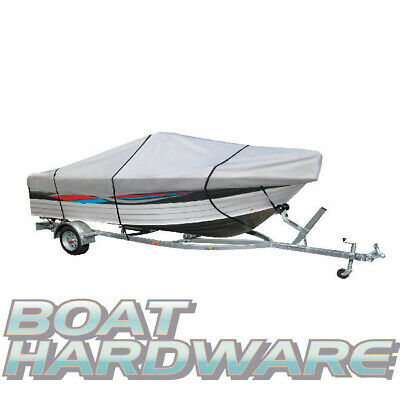 SIDE Console BOAT COVER Water UV Resist Suit 4.3 to 4.5m Ski Tinnie V Hull