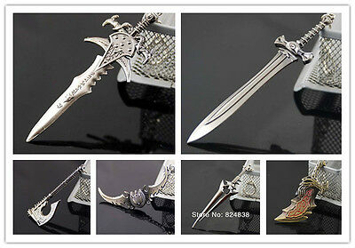 New Arrival Classic game props shape sword modeling The Key Rings