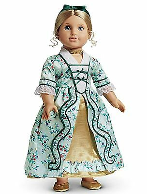American Girl Elizabeth's Holiday Gown