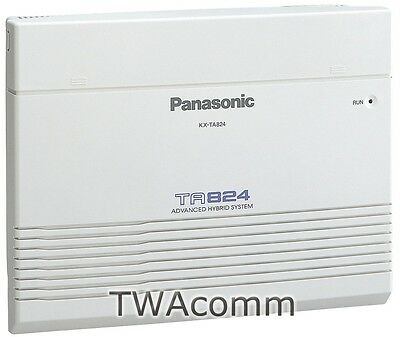 Panasonic Kx-Ta824 Hybrid Phone System Kxta824 In Original Box W/ Warranty New!
