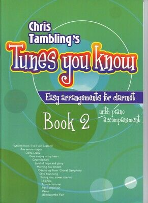 Tunes you Know - easy arrangements for Clarinet BK 2 - Chris Tamblings - 3612160