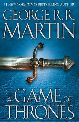 A Game of Thrones by George R.R. Martin (English) Hardcover Book Free Shipping!