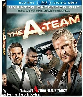 The A-Team  (Blu-ray Disc, 2010, 2-Disc Set, Unrated Extended Cut)  New