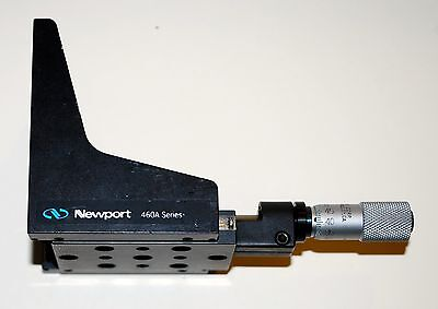 Newport 460A-Y Linear Stage with 13mm Micrometer
