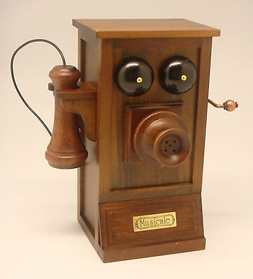 """Musical 7"""" Tall Wall Telephone - """"I Just Called to Say I Love You"""" (Item # 1248)"""