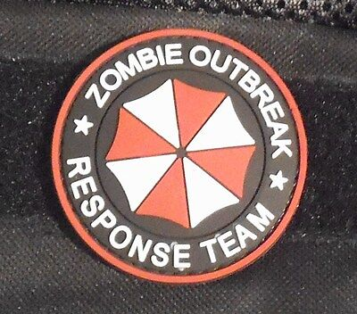 Resident Evil Umbrella Corp Zombie Outbreak Response Team - Pvc Patch