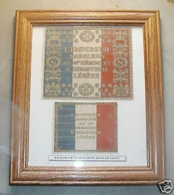 French Flag Set of Napoleon Bonaparte......France, 1812