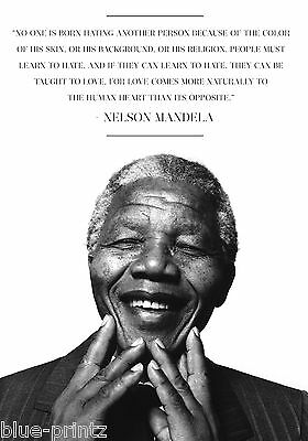nelson mandela quote madeba print photo art poster painting large