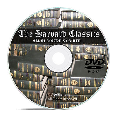The Harvard Classics, All 51 Volumes, in PDF and DVJU, DVD for your tablet V42