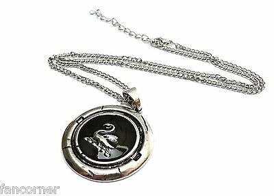Once Upon A Time collier pendentif cygne porté par Emma swan necklace