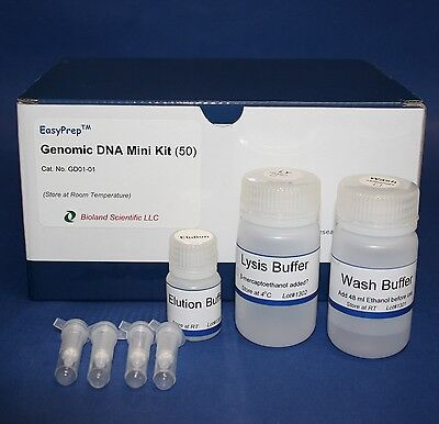 EasyPrep Genomic DNA Purification Miniprep Kit (50 preps)