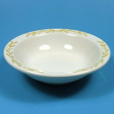 Walker China AMESBURY 1 Fruit Dessert Bowl Yellow Gold Leaves Restaurant Ware