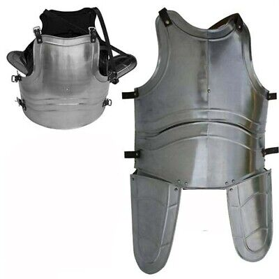 Medieval Jousting Knight Iron Cuirass Body Armor Reenactment Costume Breastplate