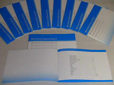 Generic Service History Book Suitable For 106, 107, 205, 206, 207 306, 307