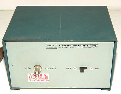 Hughes Laser Power Supply