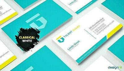 Get Your Professional Business Card Design - Graphic Design Services 100%