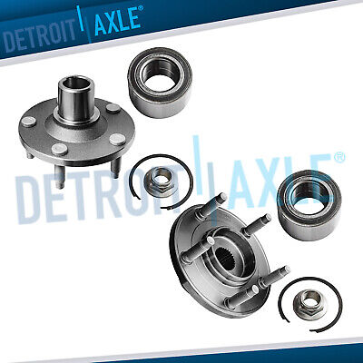Front Wheel Bearing & Hub Set for 2001-2010 2011 2012 Ford Escape Mazda Tribute
