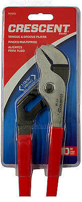 """Crescent 10"""" R210CV  Multi Pliers - Tongue & Groove Water Pump Cushioned Grips"""