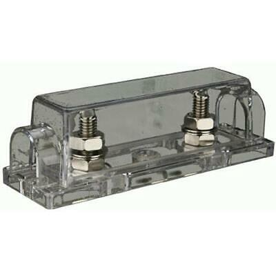 The Install Bay ANLFH Nickel Plated ANL Fuse Holder
