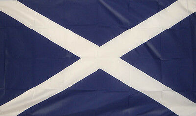 "SCOTLAND ST ANDREW 18"" X 12"" FLAG boats treehouses caravans clubs SCOTTISH FLAGS"