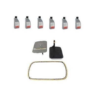 BMW E36 E39 E46 Auto Trans Filter Kit and 6 Liters Automatic Transmission Fluid‏