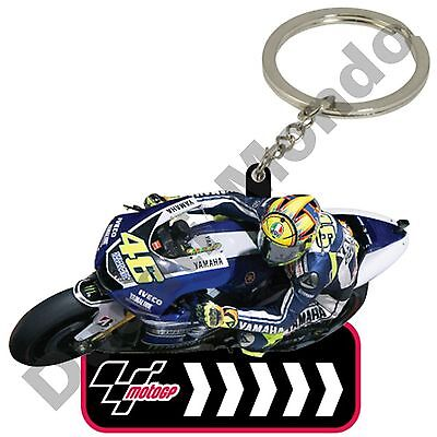 MotoGP #46 Valentino Rossi Yamaha Rubber Key Ring Fob car bike house VR46 gift