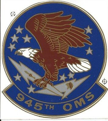 """Air Force - 945th OMS Sticker - 3"""""""