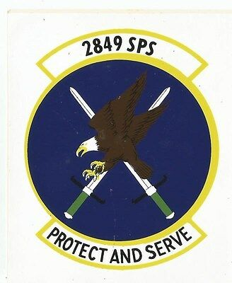 Air Force - 2849th SPS Sticker